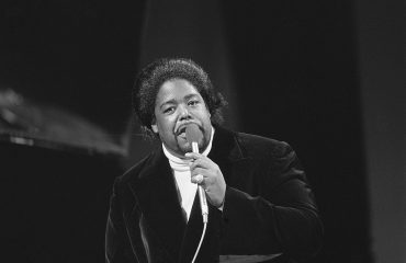 Barry White as a young singer