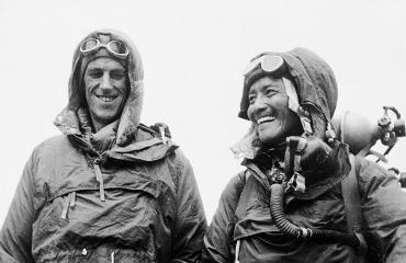 Header image - Tenzing Norgai and Edmund Hillary
