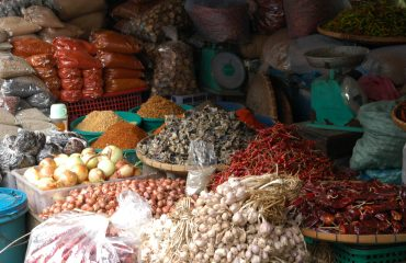 Luang Prabang marktstand