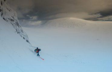 Jurgen Groenwals skiet offpiste